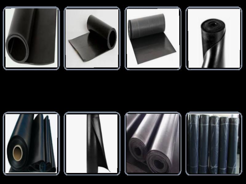 Lençol de borracha Natural para uso geral em indústrias siderúrgicas, automotivas, fundições, estaleiros, montagens industriais e também pela construção civil. Sendo aplicados na maior parte de todos os segmentos do mercado.