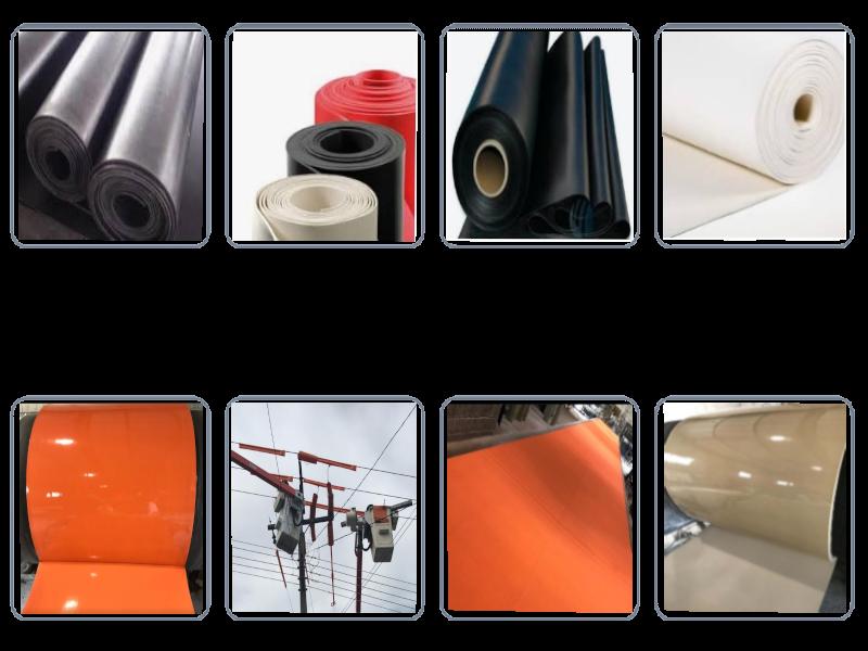 O Lençol de borracha Neoprene é utilizado para uso geral em indústrias siderúrgicas, automotivas, fundições, estaleiros, montagens industriais e também pela construção civil. Sendo aplicados na maior parte de todos os segmentos do mercado.