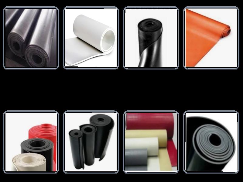 Lençol de borracha Nitrílica (NBR)  é utilizado para uso geral em indústrias siderúrgicas, automotivas, fundições, estaleiros, montagens industriais e também pela construção civil